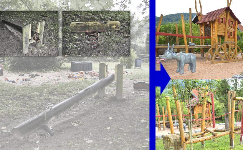 Projekt: Erlebnisspielplatz am Erzstollen