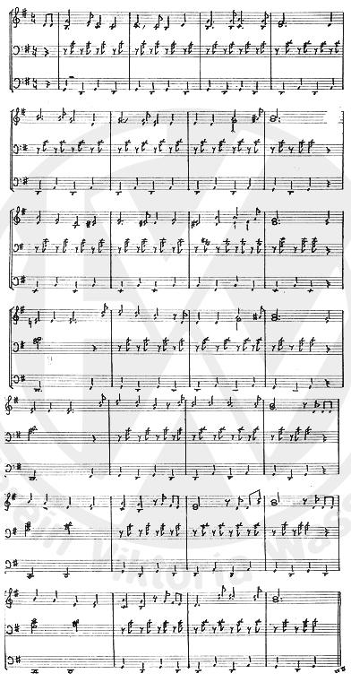Noten Viktoria-Lied