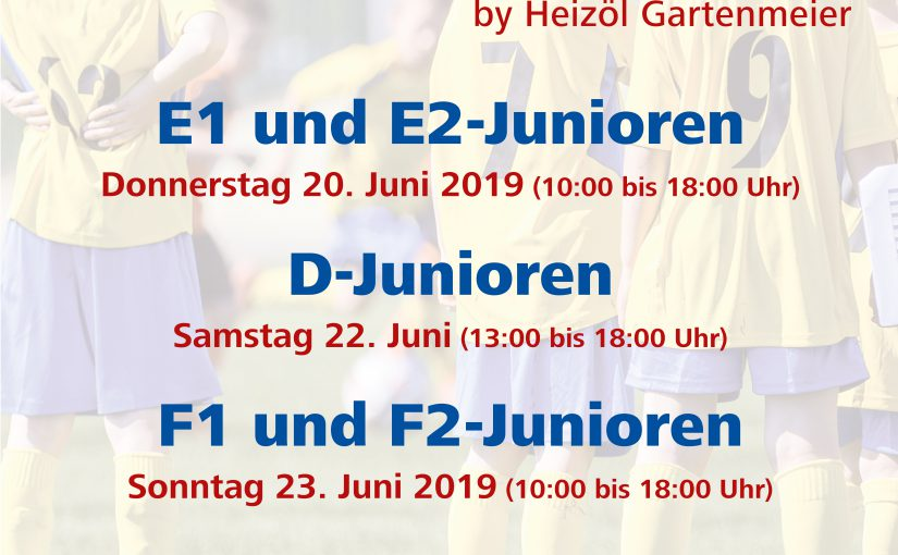 Ölefant Junior-Cup 2019